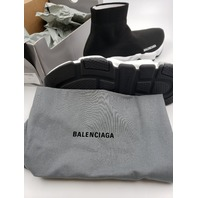 BALENCIAGA SPEED LT CLEAR 607543 W05GG 1010 KNIT SNEAKER SHOES US 10 EUR 40