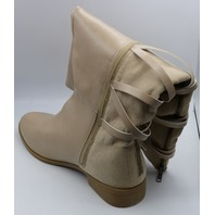 JUST FAB EMILEE WC CRÈME BRULEE US WOMEN 11 FLAT BOOTS