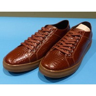 STUDIO BELVEDERE BERNARDO II COGNAC US MEN 8.5D CASUAL SHOES