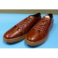 STUDIO BELVEDERE BERNARDO II COGNAC US MEN 12D CASUAL SHOES