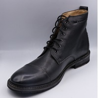 CLARKS CLARKDALE HILL BLACK US MEN 12M EU 46 BOOTS