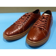 STUDIO BELVEDERE BERNARDO II COGNAC US MEN 10.5D CASUAL SHOES