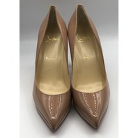CHRISTIAN LOUBOUTIN SO KATE PARIS NEW BEIGE WOMENS STILETTOS SIZE EU 38.5