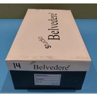 STUDIO BELVEDERE BERNARDO II COGNAC US MEN 9.5D CASUAL SHOES