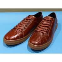 STUDIO BELVEDERE BERNARDO II COGNAC US MEN 9.5D CASUAL SHOES