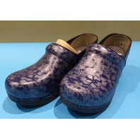 DANSKO XP 2.0 FLORAL 3950-550202 NAVY US WOMEN 8.5 EU 39 CLOGS