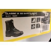 "ORIGINAL S.W.A.T. BLACK CLASSIC 9"" SAFETY PLUS BOOTS STEELTOE SIZE US 12 EU 46"
