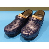 DANSKO XP 2.0 FLORAL 3950-550202 NAVY US WOMEN 6 EU 37 CLOGS