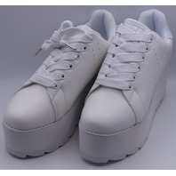 YRU LALA TRUE WHITE US WOMEN 9 EU 40 PLATFORM SNEAKER