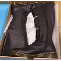 DR MARTENS VIRGINIA BLACK US WOMEN 9 EU 41 HIGH TOP BOOTS