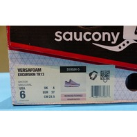 SAUCONY EXCURSION TR13 S10524-5 GRAY/ CORAL US WOMEN 6 EU 37 RUNNING SHOES