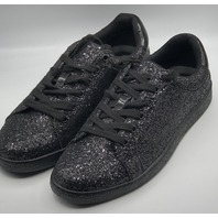 INTERNATIONAL CONCEPTS INC SILAS BLACK GLITTER SNEAKER SIZE MENS 9