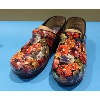 DANSKO XP 2.0 PATENT 3950-690202 FLOWERY US WOMEN 10 EU 41 CLOGS