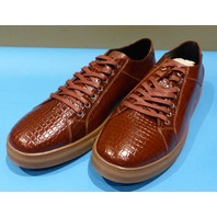 STUDIO BELVEDERE BERNARDO II COGNAC US MEN 11.5 D CASUAL SHOES