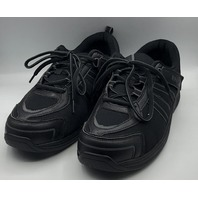 ORTHOFEET BIOFIT TAHOE FASCIITIS RELIEF BLACK WOMENS ATHLETIC SHOES S 9.5X-WIDE