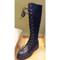 DIRTY LAUNDRY VANDAL BLACK US WOMEN 6.5M COMBAT BOOTS
