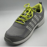 ORTHOFEET BIOFIT CORAL FASCIITIS RELIEF GREY WOMENS ATHLETIC SHOES S US W9.5WIDE