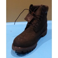TIMBERLAND PREMIUM 6IN WATERPROOF BLACK US MEN 11M EU 45 OUTDOOR BOOT