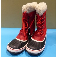 SOREL WINTER CARNIVAL NL3483-613 RED MOUNTAIN US WOMEN 8 EU 39 WINTER BOOTS