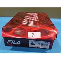 FILA VULC 13 MASHUP BLACK RED US KIDS 7 EU 39.5 SNEAKER