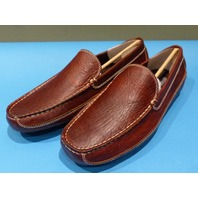 DULUTH TRADITION BISON DARK BROWN US MEN 9M DRIVING MOCCASINS