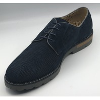 JACHS NEW YORK MARTY-NAVY CASUAL DRESS SHOES NEW SIZE US MENS 10.5
