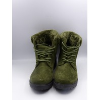 MODERN REBEL LV-19-1004 OLIVE US WOMEN 8 COMBAT BOOT