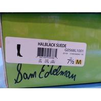 SAM EDELMAN HAI BLACK US WOMEN 7.5 EU 37.5 KNEE BOOT