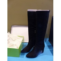 SAM EDELMAN HAI BLACK US WOMEN 7.5 EU 37.5 KNEE BOOT