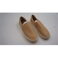 OIL JOLIMALL DAILY CASUAL SLIP ON SNEAKERS WOMENS BEIGE  SIZE 38