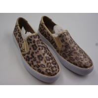 GBG LOS ANGELES GOLLY2 LEOPARD GLAMOUR WOMENS SLIP-ON SNEAKERS SIZE 7.5