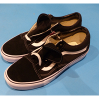 VANS CLASSIC BLACK US MEN 9 WOMEN 10.5 EU 42 SNEAKERS