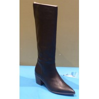 FRANCO SARTO SHANE BLACK LE US WOMEN 9.5M EU 39.5 KNEE HI BOOTS