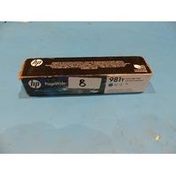 HP 981Y PAGEWIDE ORIGINAL CYAN CARTRIDGE  GENUINE