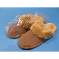 ZEALAND DIANA TAUPE US WOMEN 10 SLIP ON SLIPPERS WS503