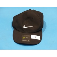 NIKE LEGACY 91 AQ5349-010 BLACK ADULT UNISEX ONE SIZE GOLF DUCKBILLED HAT