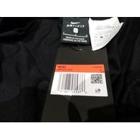 NIKE STANDARD FIT DRI FIT BLACK MENS AR4837-010 LARGE LIGHT TAPERED JOGGER PANTS