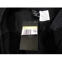 NIKE STANDARD FIT DRI FIT BLACK MENS AR4837-010 SMALL LIGHT TAPERED JOGGER PANTS