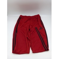ADIDAS TIRO 19 FJ9394 RED/BLACK MENS SMALL TAPERED FIT TRAINING PANTS