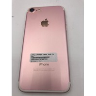 APPLE IPHONE 7 A1660 128 GB ROSE GOLD WITH CHARGING CORD
