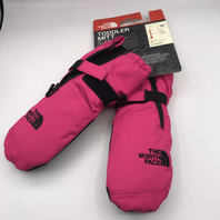THE NORTH FACE PETTICOAT PINK TODDLER MITT SMALL