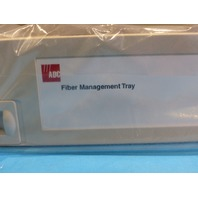 ETE FMT FIBER STORAGE PANEL W/SLIDING TRAY & STORAGE SPOOLS FMT-GBS000000-A00B