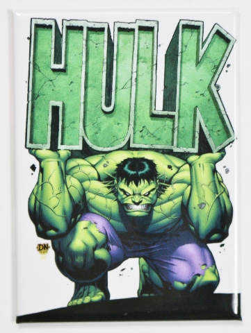 Incredible Hulk FRIDGE MAGNET Marvel Comics Bruce Banner ...
