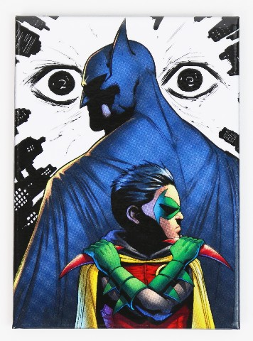 Batman and Robin DC comic book FRIDGE MAGNET The Joker Gotham L12