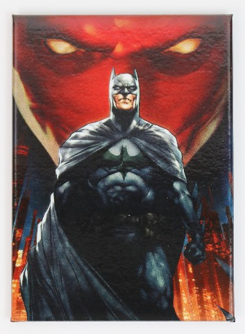 Batman Red Mask The Dark Knight Fridge Magnet Gotham Dc Comics H24