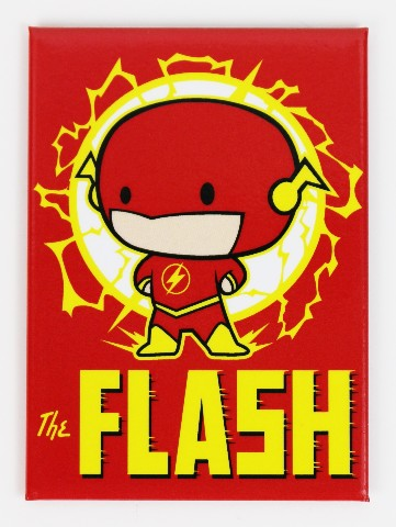 The Flash Chibi FRIDGE MAGNET Reverse Flash DC Comics J24
