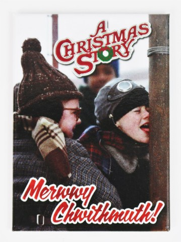 A Christmas Story Merry Christmas Fridge Magnet Funny