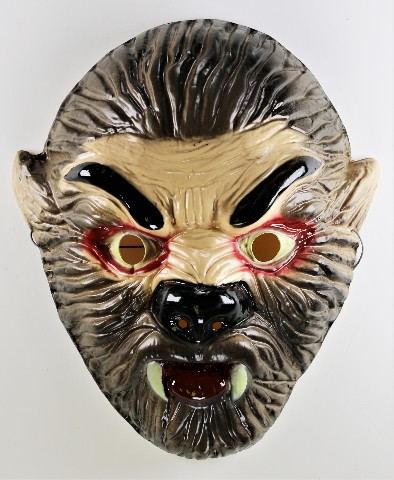 Werewolf Wolf man Halloween Mask Monster Scary Creepy Y221
