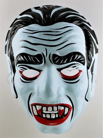 Vintage Dracula Vampire Witch Halloween Mask Bela Lugosi Y181