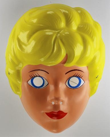 Vintage Skipper Barbie Doll Halloween Mask Mattel